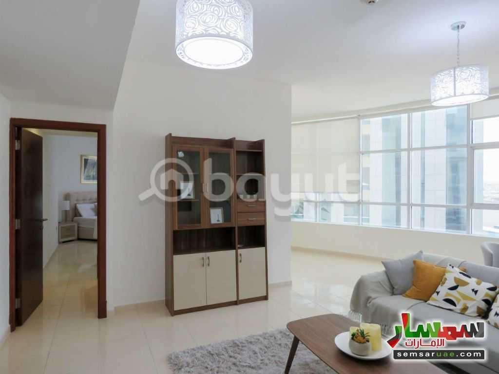 Ad Photo: Apartment 1 bedroom 1 bath 841 sqft super lux in Al Bustan  Ajman