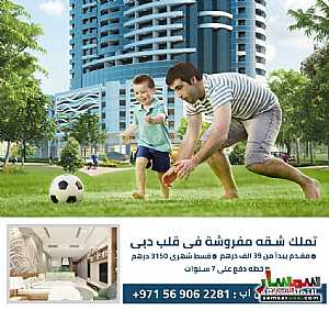 Ad Photo: Apartment 1 bedroom 2 baths 560 sqft extra super lux in Dubai Land  Dubai