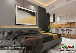 Ad Photo: Apartment 1 bedroom 2 baths 520 sqm extra super lux in Dubai Land  Dubai