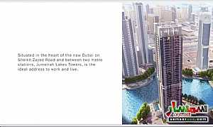 Ad Photo: Apartment 1 bedroom 2 baths 812 sqft extra super lux in Jumeirah Lake Towers  Dubai