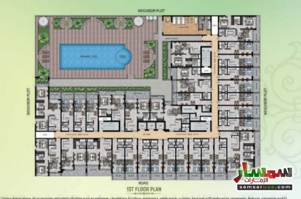 Photo 11 - Apartment 2 bedrooms 1 bath 848 sqft extra super lux For Sale Umm Suqeim Dubai