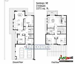 Ad Photo: Villa 3 bedrooms 3 baths 2272 sqft extra super lux in The Springs  Dubai