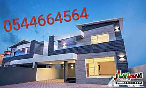 Ad Photo: Villa 5 bedrooms 7 baths 5600 sqft extra super lux in Al Rawdah  Ajman