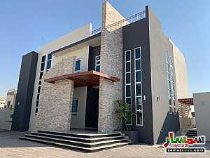 Villa 5 bedrooms 7 baths 10 sqm super lux For Sale Shakhbout City Abu Dhabi - 1