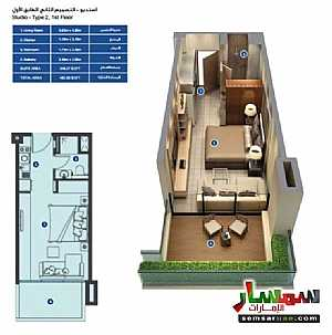 Ad Photo: Apartment 1 bedroom 1 bath 412 sqft extra super lux in Mohammad Bin Rashid City  Dubai
