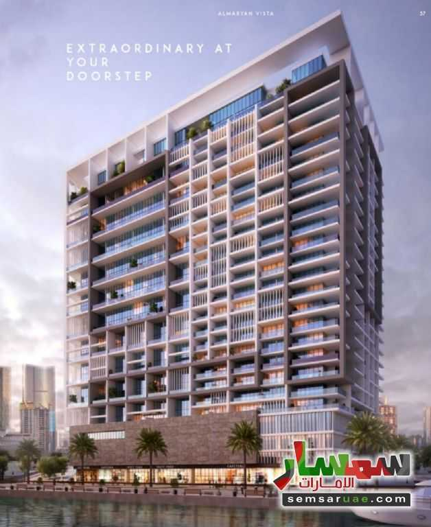 Ad Photo: Apartment 1 bedroom 2 baths 780 sqm extra super lux in Al Maryah  Abu Dhabi