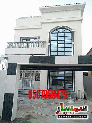 Ad Photo: Villa 5 bedrooms 7 baths 3400 sqft super lux in Al Zahraa  Ajman