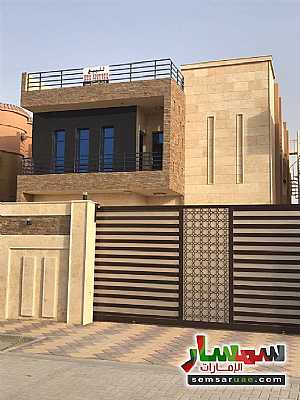 Villa 5 bedrooms 7 baths 465 sqm super lux For Sale Al Rawdah Ajman - 1