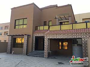 Villa 5 bedrooms 7 baths 5000 sqft super lux For Sale Al Rawdah Ajman - 1