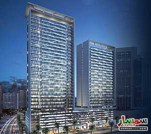 Ad Photo: Apartment 1 bedroom 2 baths 735 sqft extra super lux in Jumeirah Village Circle  Dubai