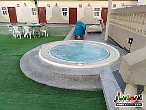 2BHK Fully Furnished Flat with Gym, kid's playground, pool, lounge & cafe located at Al Towayya للإيجار المطارد العين - 15